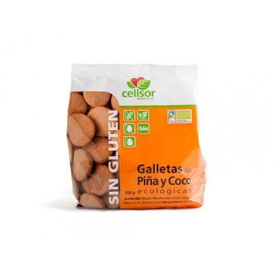 GALLETAS PIÑA COCO S/GLUTEN