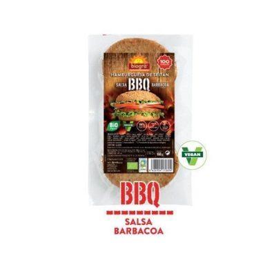 Hamburguesa Barbacoa-BBQ-/Seitan