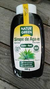 SIROPE AGAVE CRUDO 600G